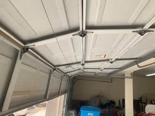 Broken Garage Door Panel Replacement
